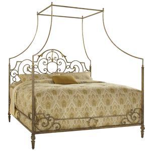 Queen Metal Canopy Bed