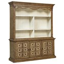Fine Furniture Design Biltmore Entertainment Wall Bookcase Unit - Item Number: 1452-693+694