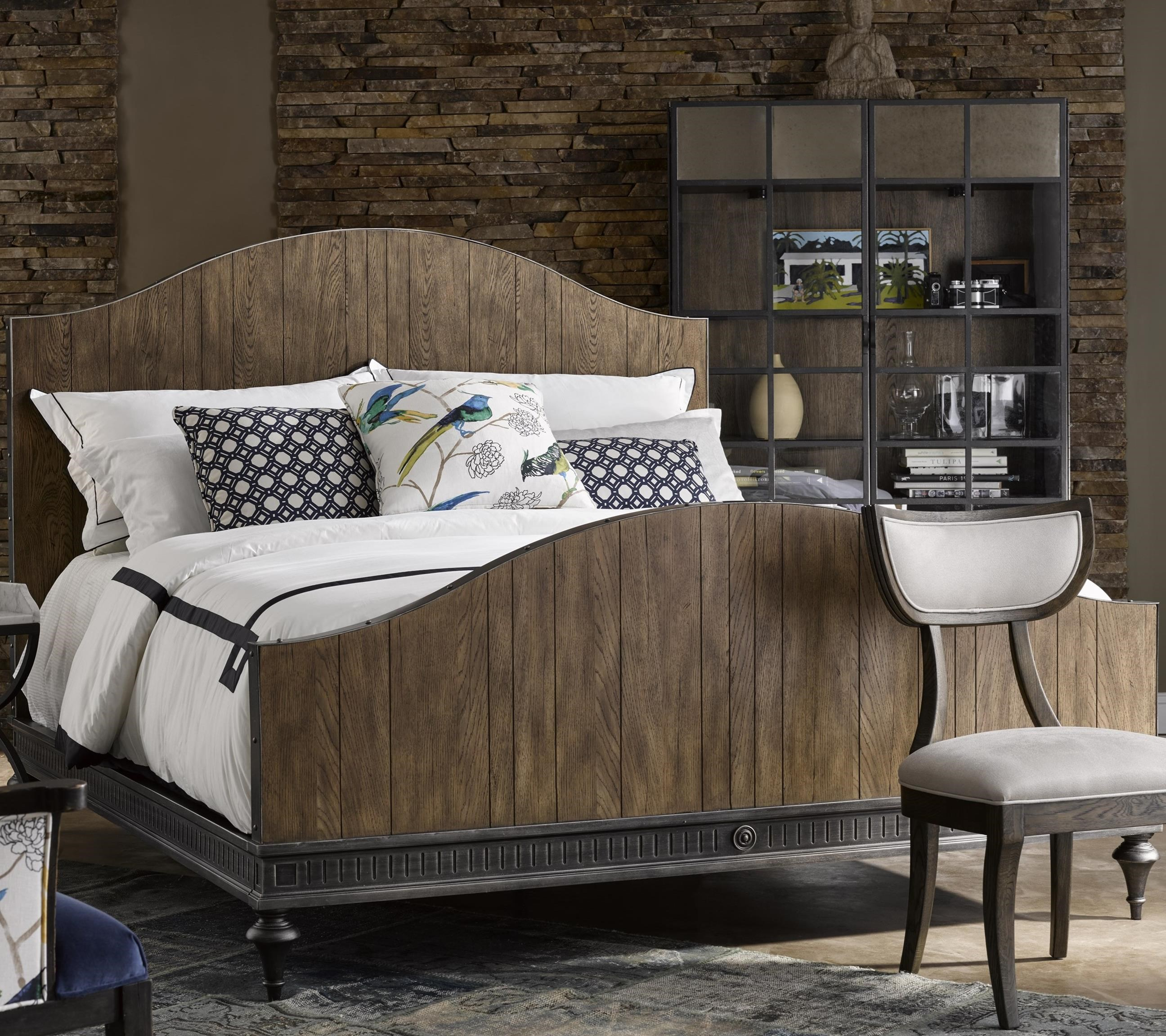 Michael Harrison Collection Brentwood Carson Queen Bed With Arched