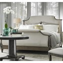 Fine Furniture Design Brentwood Rae Upholstered Queen Bed with Tapered Feet - Image Shown May Not Represent Size Indicated