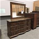 Belfort Signature Clearance Dresser and Mirror - Item Number: 100307248