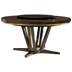 "Fine Furniture Design Deco Le Cercle 72"" Round Dining Table"