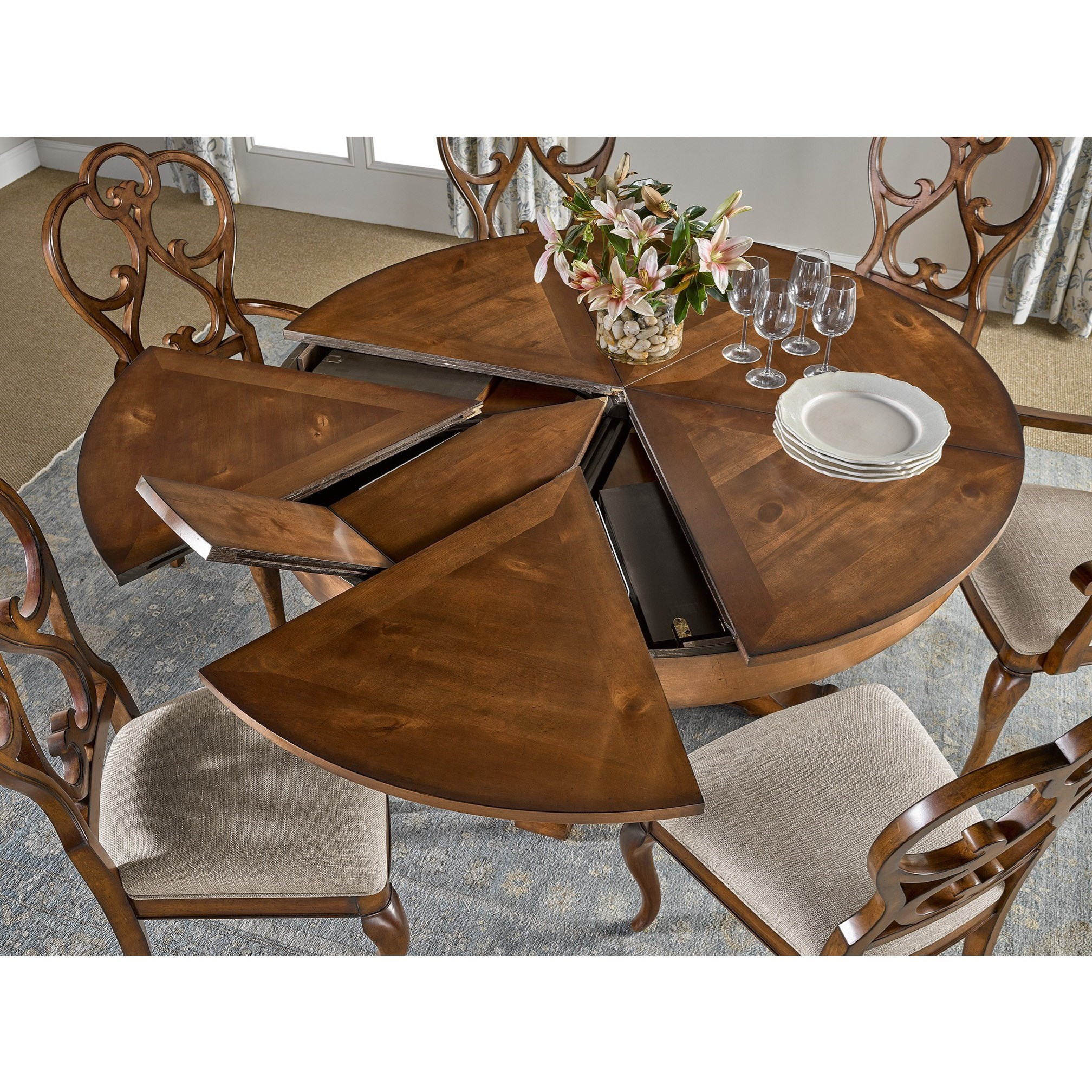 Fine Furniture Design Harbor Springs Round Extending