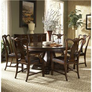 Fine Furniture Design Hyde Park 7 Piece Dining Table And Chairs Set