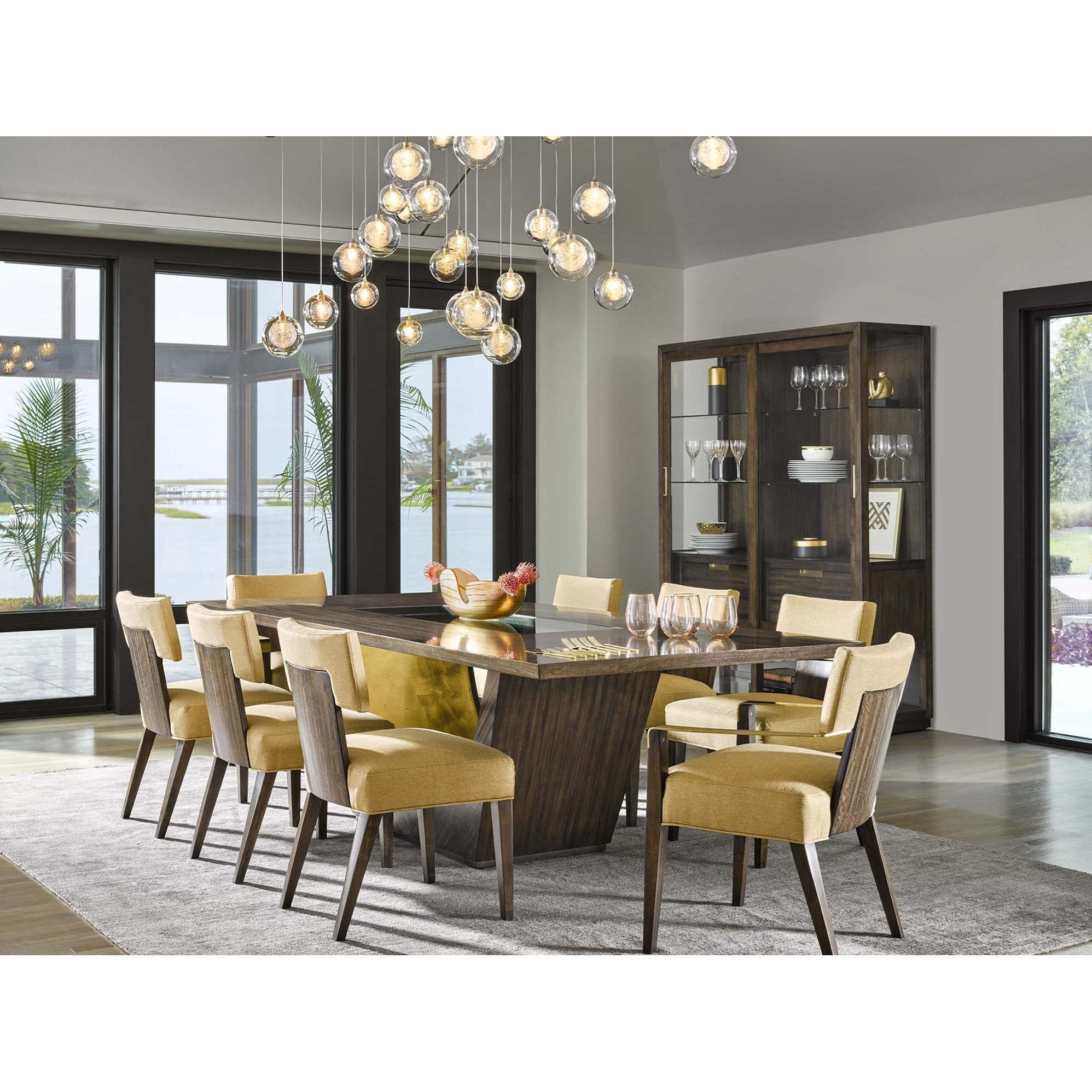 "Fine Furniture Stores Near Me: Fine Furniture Design Runaway Tegola 84"" Dining Table With"