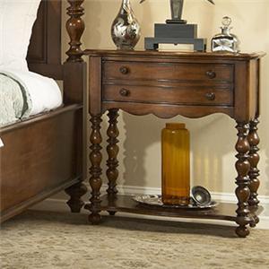 Fine Furniture Design Summer Home Leg Nightstand