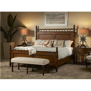 Fine Furniture Design Summer Home King Panel Bed