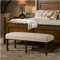 Fine Furniture Design Summer Home Bed Bench - Item Number: 1050-500