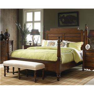 Fine Furniture Design Summer Home Queen Post Bed