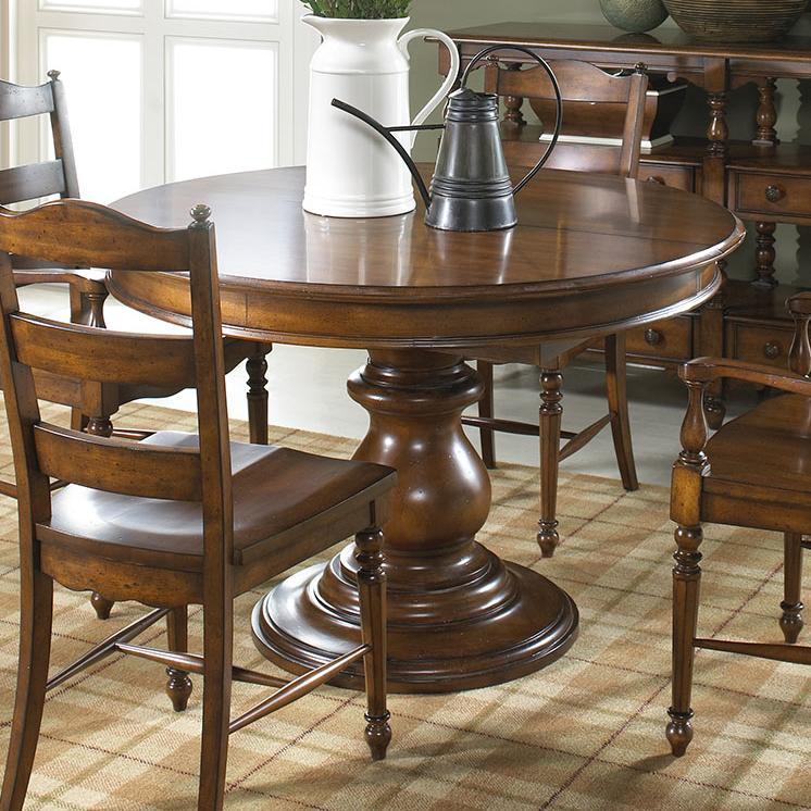 Summer Home Elegant Round Dining Table By Fine Furniture Design At Jacksonville Furniture Mart