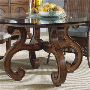 Fine Furniture Design Summer Home Glass Top Table