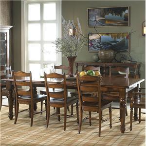 Fine Furniture Design Summer Home Rectangular Dining Table