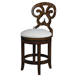 Michael Harrison Collection Summer Home Swivel Counter Stool