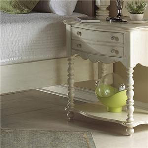 Michael Harrison Collection Summer Home Leg Nightstand