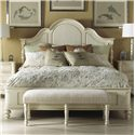 Fine Furniture Design Summer Home Queen Panel Bed - Item Number: 1051-551+552+553