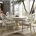 Fine Furniture Design Summer Home 5 Piece Set - Item Number: 1051-810+811+4x821