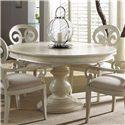 Fine Furniture Design Summer Home Round Dining Table - Item Number: 1051-810+811