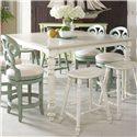 Fine Furniture Design Summer Home High-Low Dining Table - Item Number: 1051-814