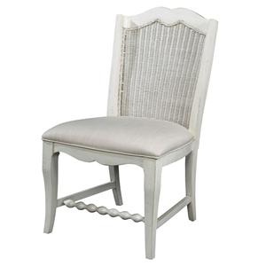 Wicker Back Side Chair