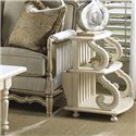 Fine Furniture Design Summer Home Magazine Storage Table - Item Number: 1051-970