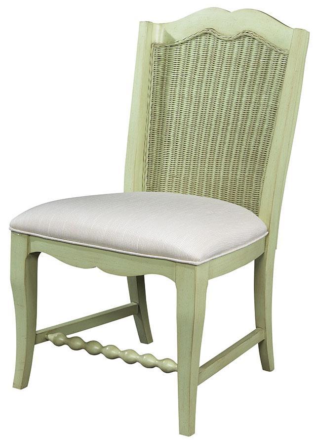 Wicker Back Side Chair