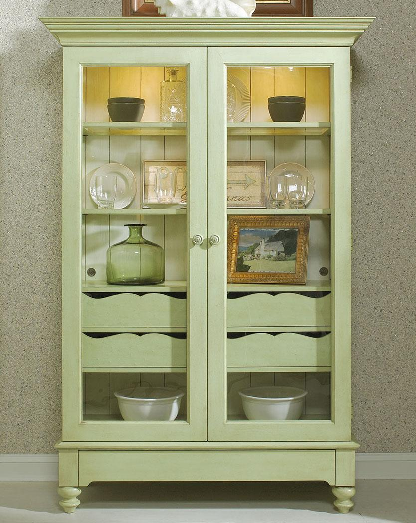 Michael Harrison Summer Home Display Cabinet With 2 Glass