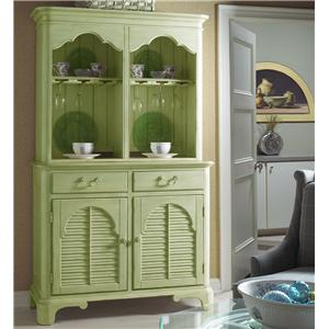 Summer Home Elegant China Cabinet by Fine Furniture Design