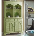 Fine Furniture Design Summer Home China Cabinet - Item Number: 1052-831+832