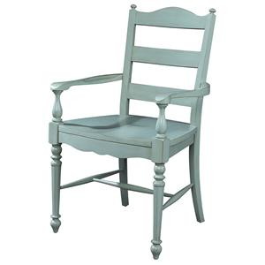 Michael Harrison Collection Summer Home Ladderback Arm Chair