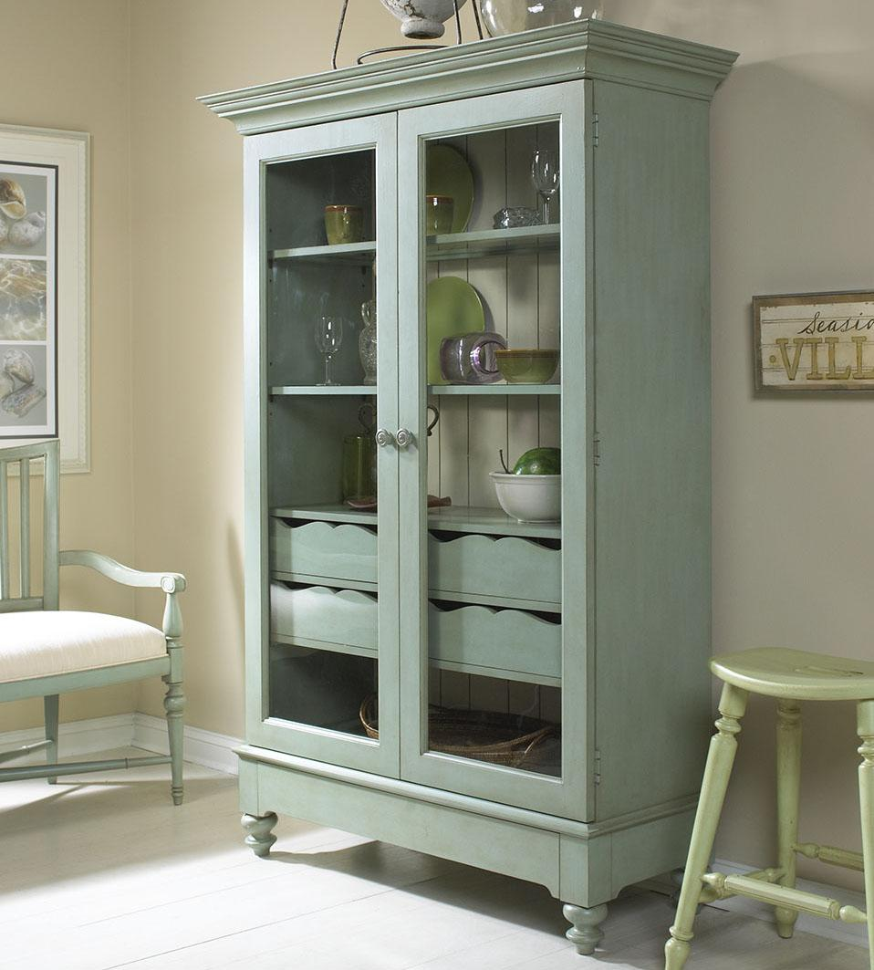 fine furniture design summer home display cabinet with 2 glass doors rh stuckeyfurniture com  black china cabinets with glass doors