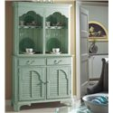 Fine Furniture Design Summer Home China Cabinet - Item Number: 1053-831+832