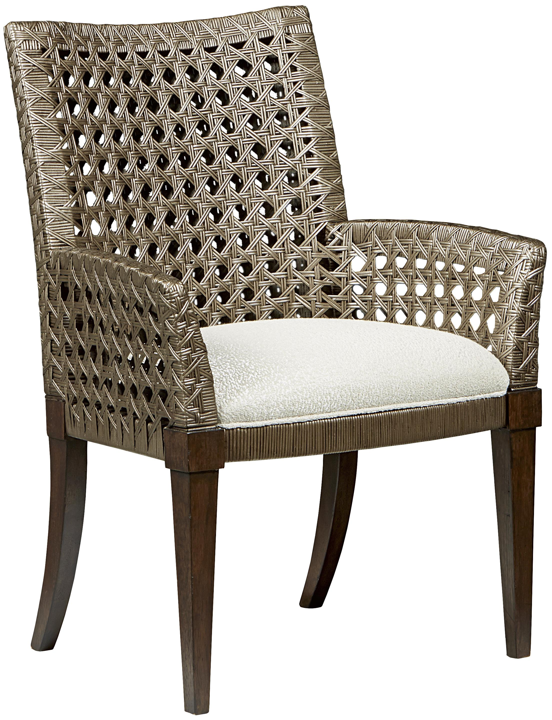 Fine Furniture Design Textures Adrian Woven Chair With