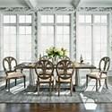 Belfort Signature Veranda Seven Piece Dining Set - Item Number: 1790-814+2x823+4x822