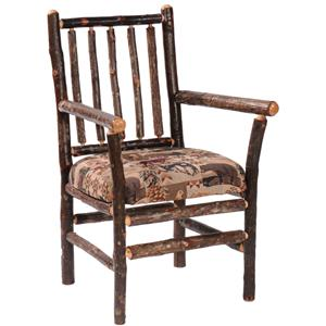 Fireside Lodge Hickory Chairs Arm Chair
