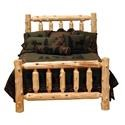 Fireside Lodge Cedar King Footboard - Item Number: 1460348