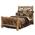 Fireside Lodge TRAIL Complete Queen Twig Bed - Item Number: 10003157