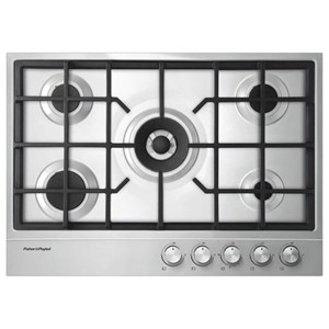 "Fisher and Paykel Gas Cooktop 30"" Steel Cooktop"