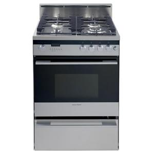 "Fisher and Paykel Gas Range  24"" Freestanding Dual Fuel Range"