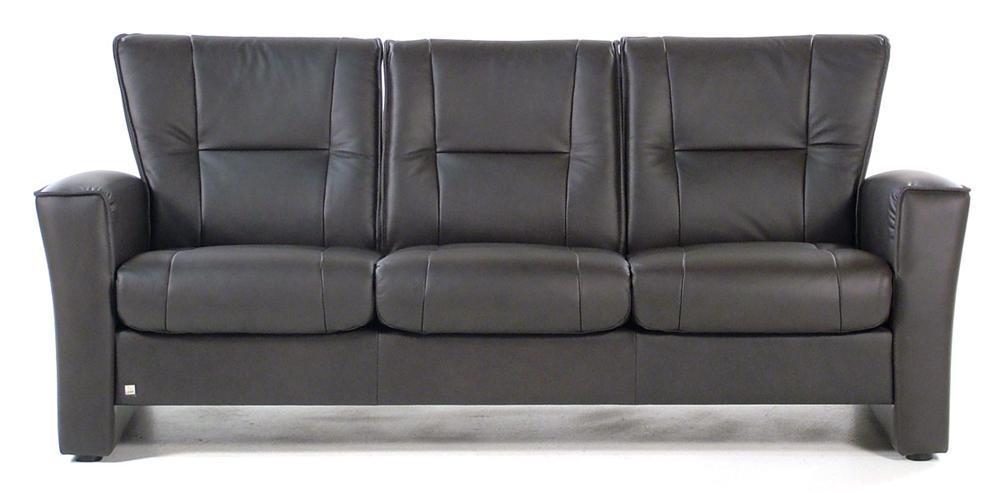 Fjords by Hjellegjerde Aalesund 3 Seat Lowback Sofa - Item Number: 775SL