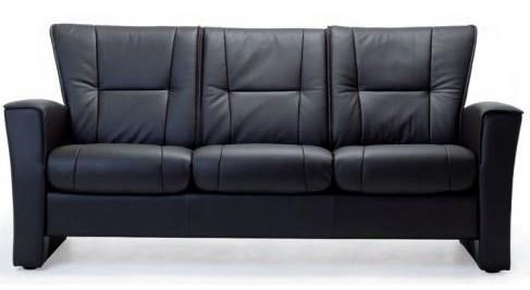 Aalesund Stationary Low Back Sofa by Fjords by Hjellegjerde at Reid's Furniture