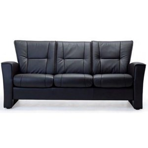 Stationary Low Back Sofa