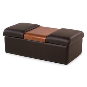 Fjords by Hjellegjerde Amsterdam Contemporary Storage Ottoman