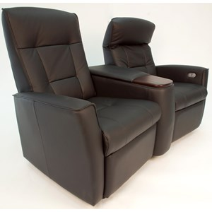 Motorized Home Cinema Wall Saver Sofa