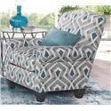 Flair 1010 Paradigm Quartz Accent Chair - Item Number: 123904