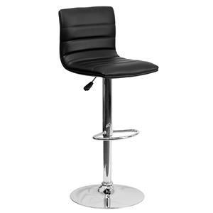 Flash Furniture ADJUSTABLE STOOL Black Adjustable Stool