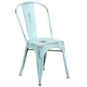 Flash Furniture Metal Chairs Dis Blue Chair