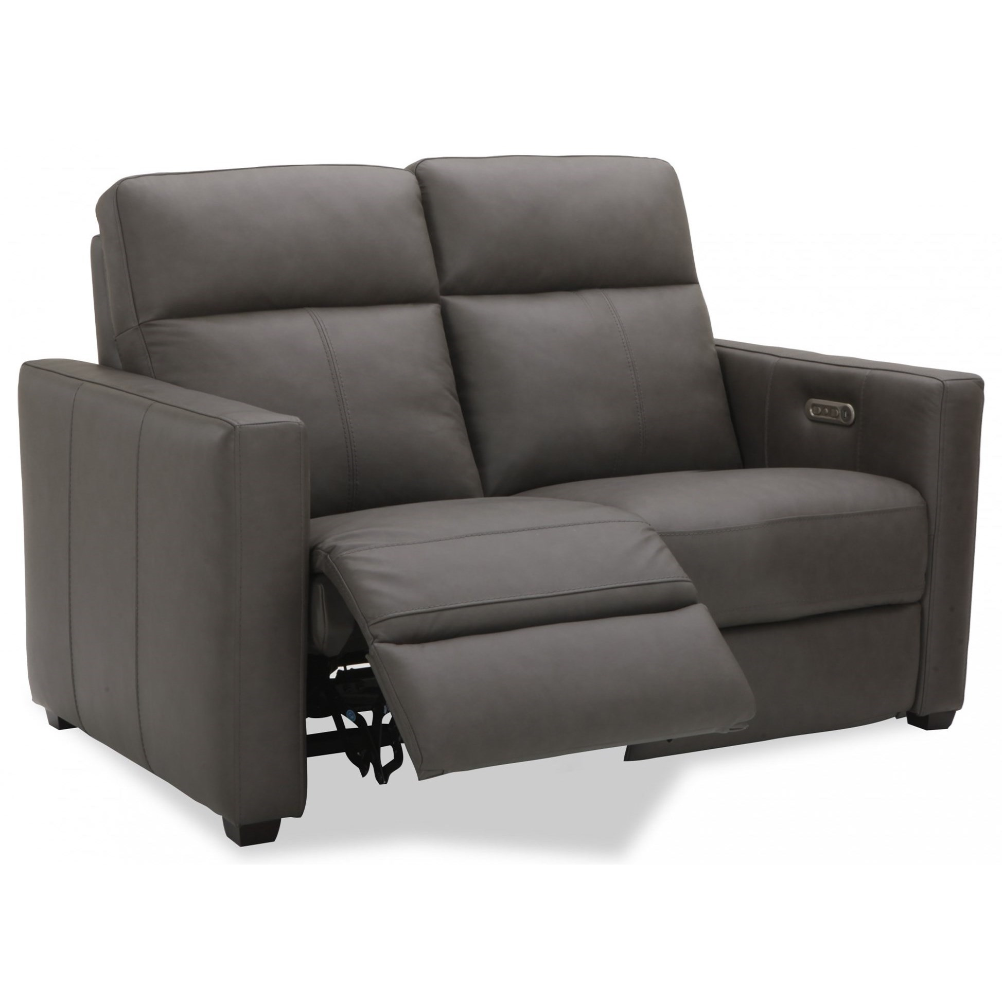 Latitudes - Broadway Power Reclining Loveseat by Flexsteel at Goffena Furniture & Mattress Center