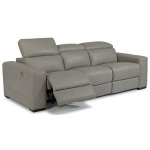 Flexsteel Lexon Sectional Reclining Sofa