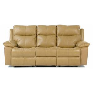 Flexsteel Butterscotch Power Reclining Sofa