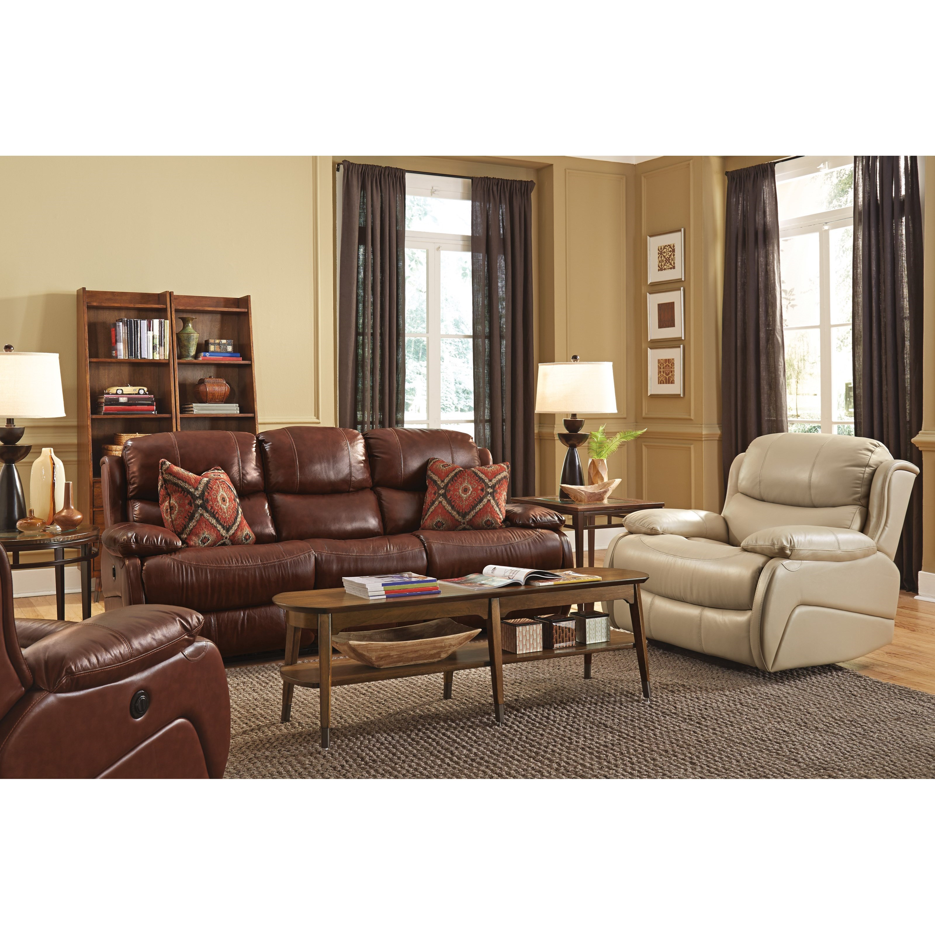 Flexsteel Latitudes - Amsterdam Power Living Room Group - Item Number: 1677 Living Room Group 2